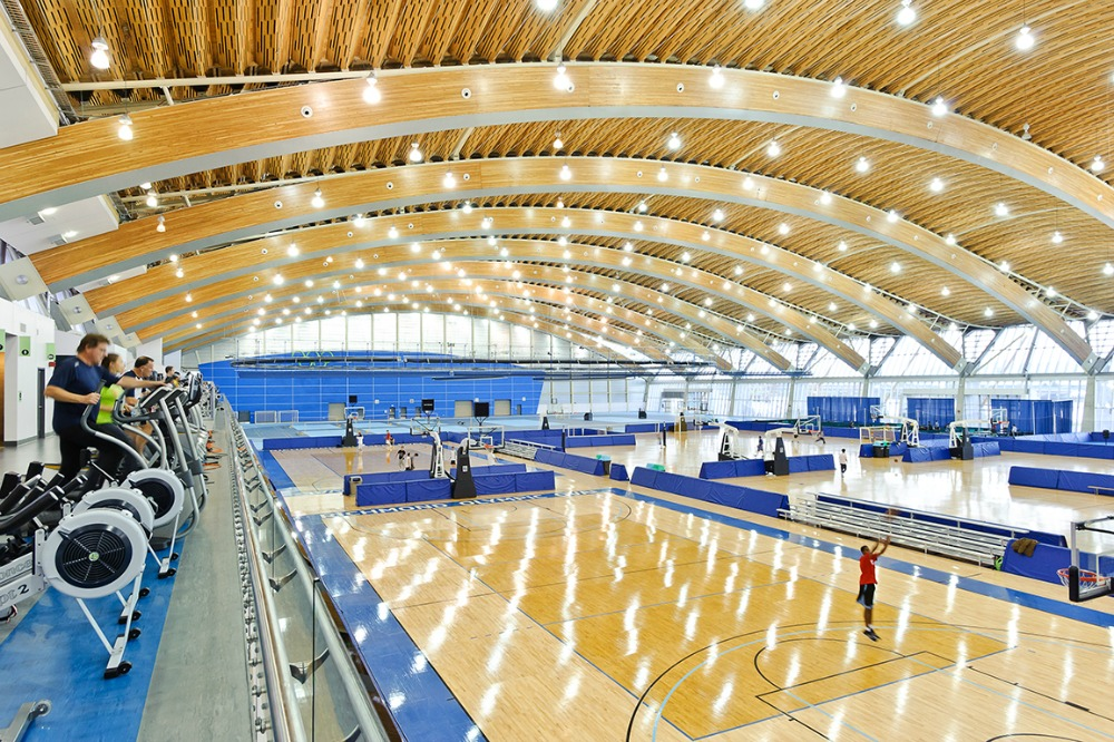 Richmond olympic oval mfma for Pool design vancouver